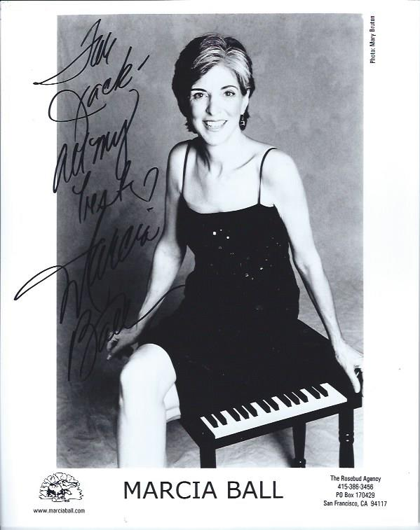 Image for Autographed photograph of Marcia Ball