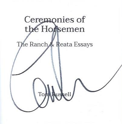 Image for Ceremonies of the Horseman: The Ranch & Reata Essays