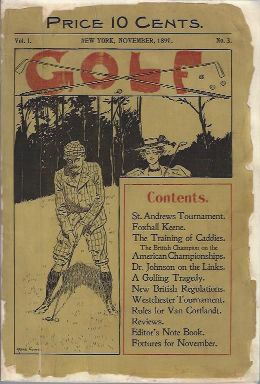 Image for Golf, November, 1897