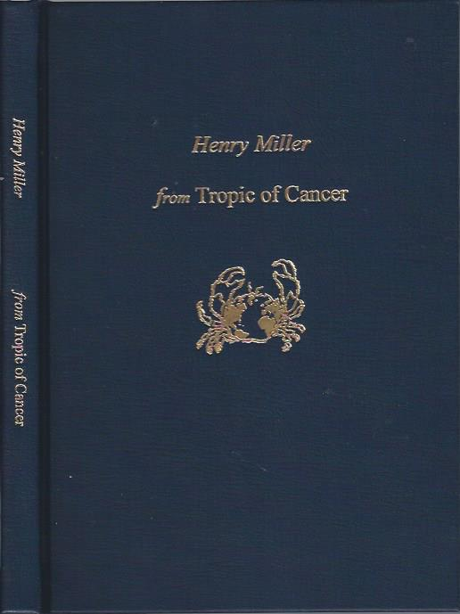Image for Henry Miller from Tropic of Cancer, Previously Unpublished Sections