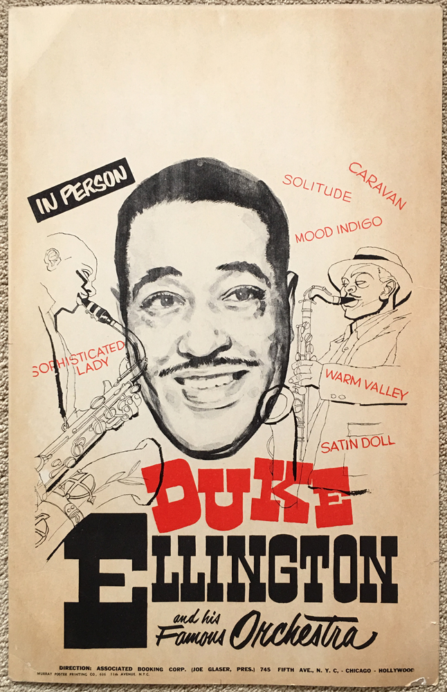 Image for Poster for Concert Featuring Duke Ellington
