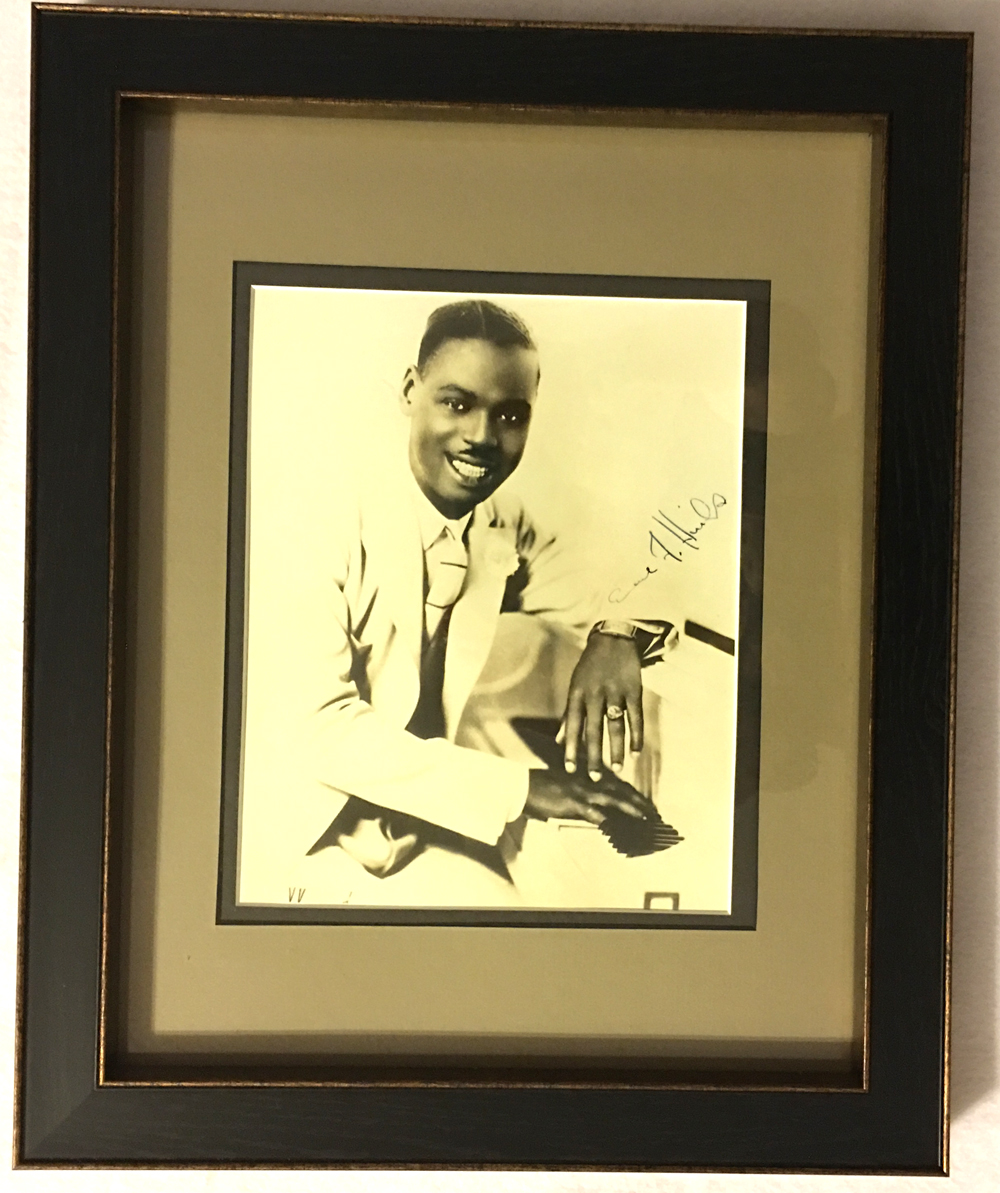 "Image for Autographed Framed Photo of ""Fatha""  Hines"