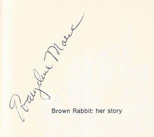 Image for Brown Rabbit: Her Story