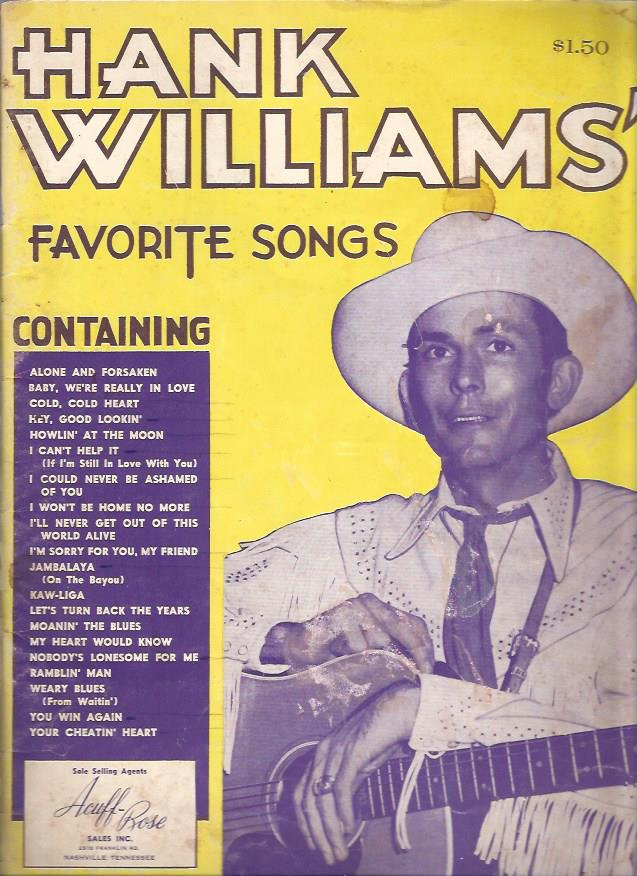 Image for Hank Williams Favorite Songs