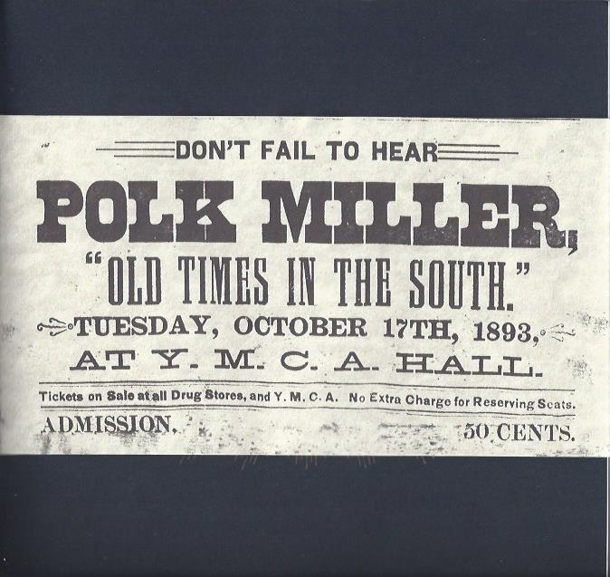 Image for Polk Miller and the Old South Quartette, Music of the Old South