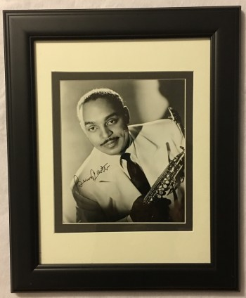 Image for Autographed Photograph of Benny Carter