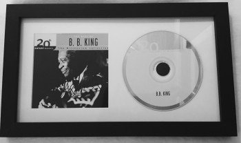 Image for B. B. King Signed and Framed CD