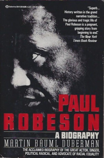 Image for Paul Robeson: A Biography