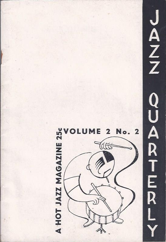 Image for Jazz Quarterly: A Hot Jazz Magazine, Summer, 1944, Vol. 2 No. 2