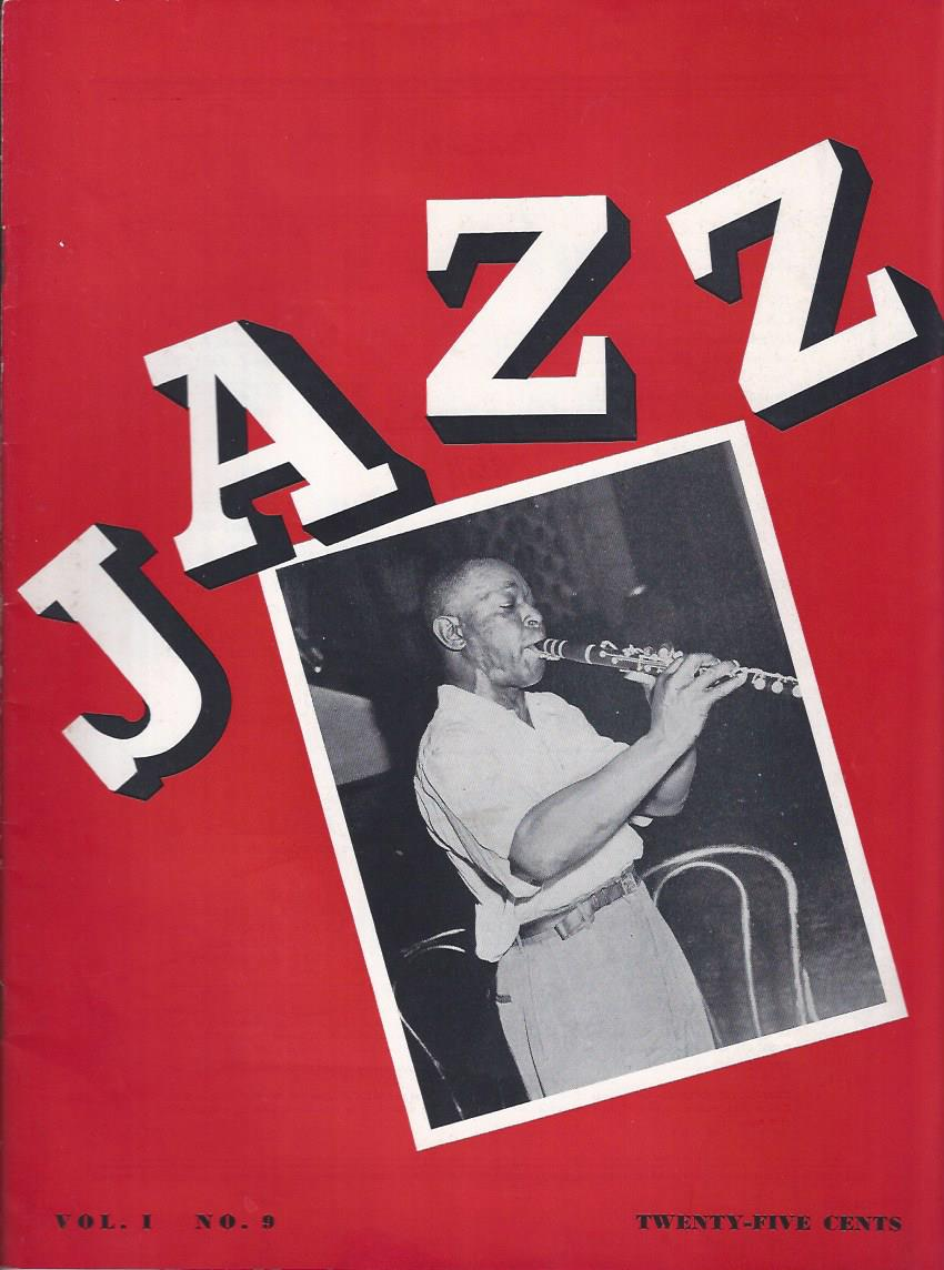 Image for Jazz, 1943, Vol. 1 No. 9