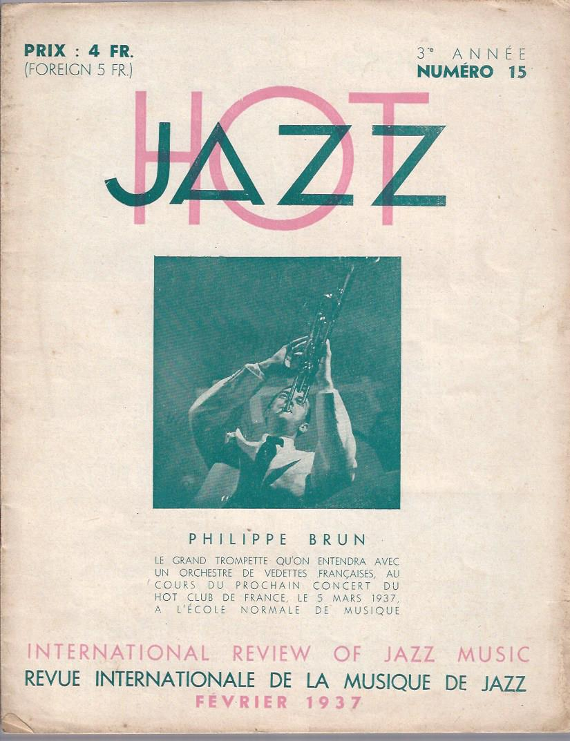 Image for Jazz Hot, Fevrier 1937