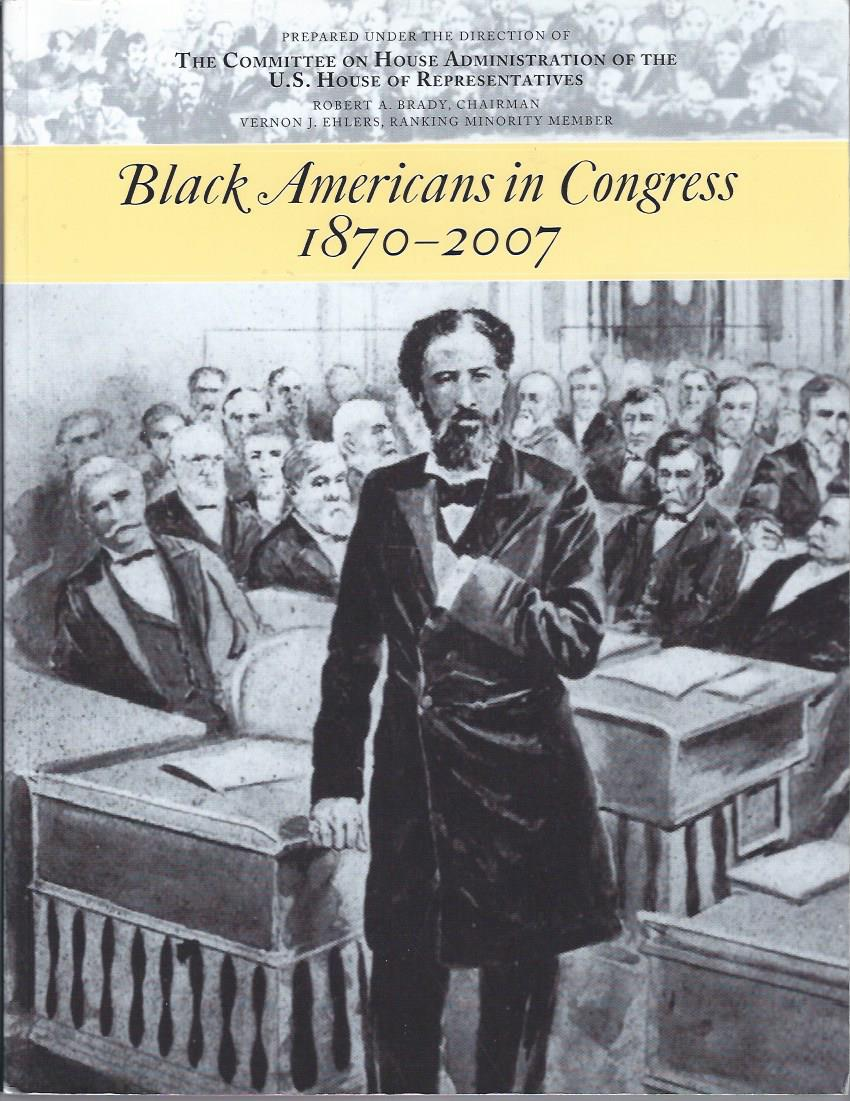 Image for Black Americans in Congress 1870-2007