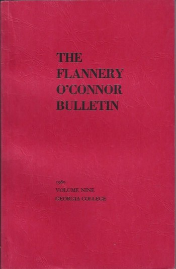 Image for The Flannery O'Connor Bulletin, Volume Nine