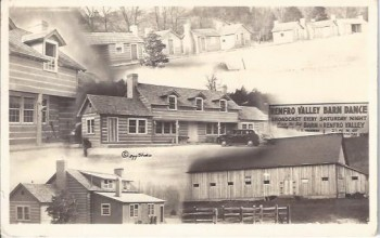Image for Renfro Valley Barn Dance, Postcard