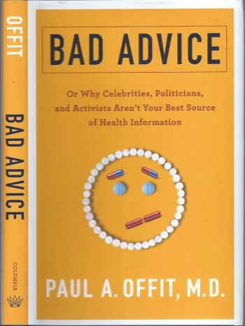 Image for Bad Advice, or Why Celebrities, Politicians, and Activists Aren't Your Best Source of Health Information