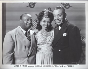 Image for Tall, Tan and Terrific Movie Still : Mantan Moreland, Monte Hawley and Francine Everett