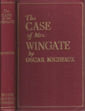 Image for The Case of Mrs. Wingate