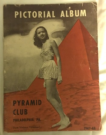 Image for Pictorial Album: Pyramid Club, Philadelphia Pa. 1947-48