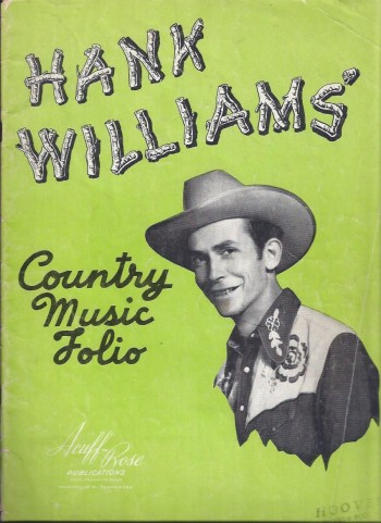 Image for Hank Williams Country Music Folio