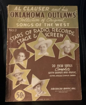 Image for Al Clauser and his Oklahoma Outlaws Collection of Original Songs of the West