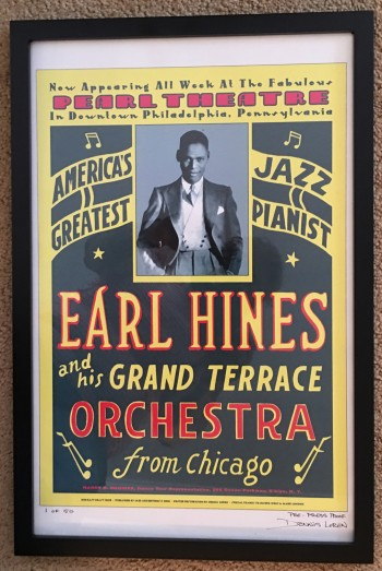 Image for Earl Hines and His Orchestra, Limited Edition Poster, framed