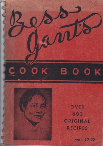 Image for Bess Gant's Cook Book Over 600 Original Recipes