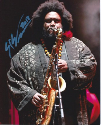 Image for Kamasi Washington, Autographed Photograph