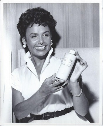 Image for Lena Horne -- Three Publicity Photographs from Lena Horne Cosmetics