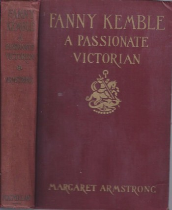 Image for Fannie Kemble: A Passionate Victorian
