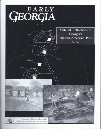 Image for Early Georgia, Fall 2007