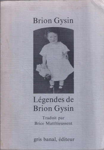 Image for Legendes de Brion Gysin