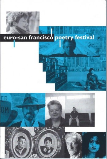 Image for Euro-San Francisco Poetry Festival Program and Poems