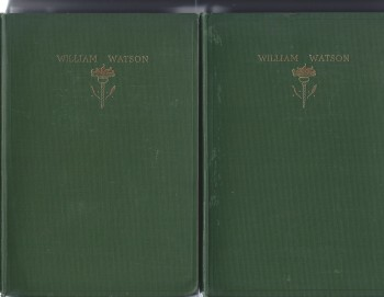 Image for The Poems of William Watson Vol. I & II