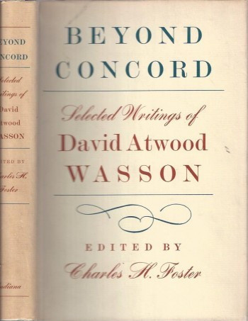 Image for Beyond Concord: Selected Writings of David Atwood Wasson