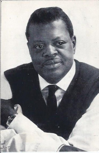Image for Oscar Peterson, Advertising Card, Lisbon Portugal, 1966