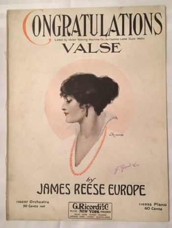 Image for Congratulations Valse (Listed by Victor Talking Machine Co., as Castles Lame Duck Waltz)