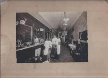 Image for African-American Barbershop Photograph, Oakland California