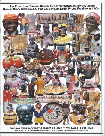 Image for The Collectors Paradise Annual Fall Extravaganza Absentee Auction Catalog, October 30, 2004 : Quality Black Americana & Fine Collectibles