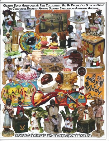 Image for A Collectors Paradise Annual Summer Spectacular Absentee Auction Catalog, MJune 25, 2005 : Quality Black Americana & Fine Collectibles