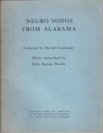 Image for Negro Songs from Alabama