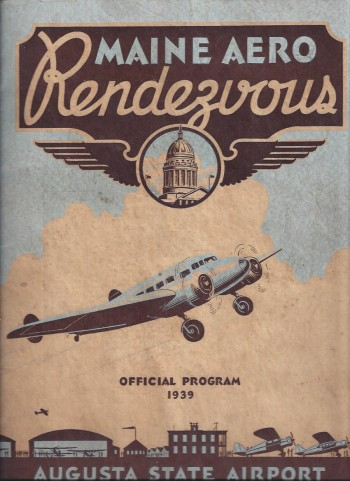 Image for Maine Aero Rendezvous, Official Program, 1939