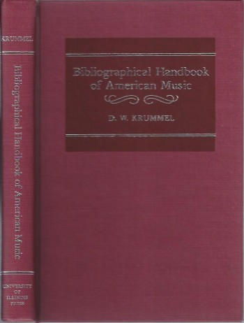 Image for Bibliographical Handbook of American Music