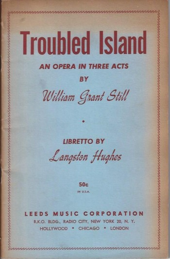 Image for Troubled Island : An Opera in Three Acts
