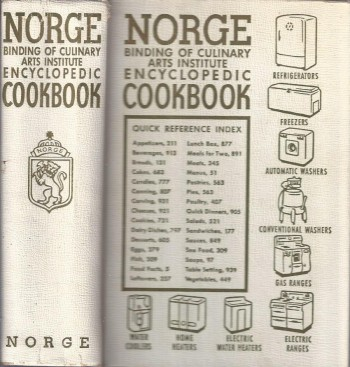 Image for Norge Binding of Culinary Arts Institute Encyclopedic Cookbook