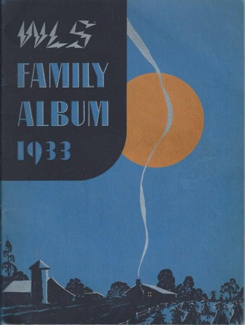 Image for WLS Family Album 1933