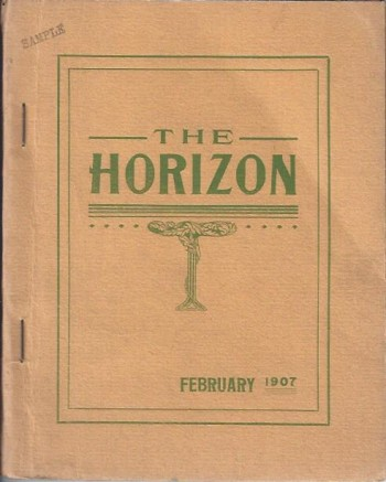 The Horizon: A Journal of the Color Line, Vol. I. No. 2, February 1907