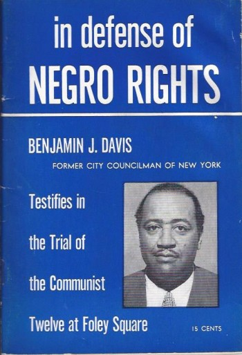 Image for In Defense of Negro Rights