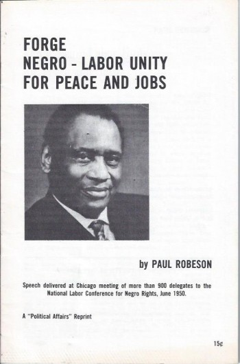 Forge Negro-Labor Unity for Peace and Jobs