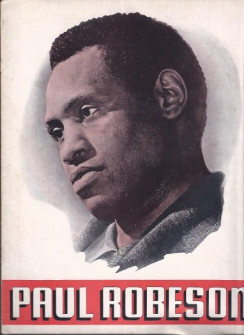 Image for Paul Robeson Souvenir Book
