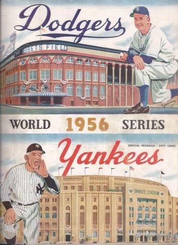 Image for 1956 World Series Program, Brooklyn Dodgers, New York Yankees